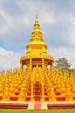 Five hundred pagodas in Wat pasawangboon, Thailand Stock Images
