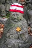 Daishio-in Temple and statue stock photography
