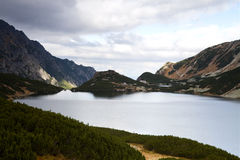 Five Lake Valley in Tatra Mountains, Poland Stock Photos
