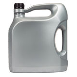 Five liter engine oil. Engine oil in a typical five liter container Stock Image
