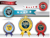 Five medals vector Stock Photos