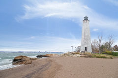 Five Mile Point Lighthouse Royalty Free Stock Photography