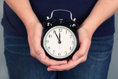Five minutes before deadline Royalty Free Stock Photos