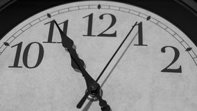 Five minutes before eleven o`clock Royalty Free Stock Photo