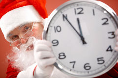 Five minutes to Christmas Royalty Free Stock Image