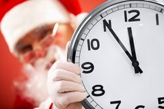 Five minutes to Christmas Stock Photography