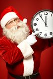 Five minutes to Christmas Royalty Free Stock Photo