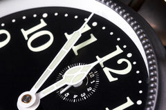 Five Minutes To Midnight Royalty Free Stock Photos