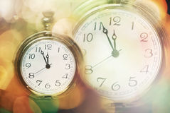 Five minutes to midnight Royalty Free Stock Photography