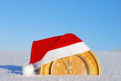 Five minutes to new year Royalty Free Stock Image