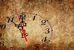 Five minutes to New Year Royalty Free Stock Photos
