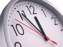 Five minutes to twelve Royalty Free Stock Images