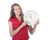 Five minutes to twelve - deadline Stock Photos