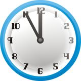 Five minutes to twelve hours Royalty Free Stock Images