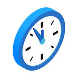 Five minutes to twelve icon Royalty Free Stock Image