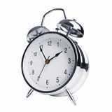 Five minutes to two on the alarm clock Stock Images
