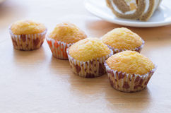 Five muffin Royalty Free Stock Photography