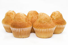 Five muffins Royalty Free Stock Photography