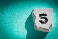5,five Royalty Free Stock Photography