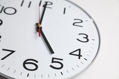 Five o'clock Royalty Free Stock Image