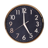 Five o'clock on the dial Royalty Free Stock Photos