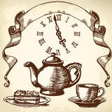 Five o'clock Royalty Free Stock Photo