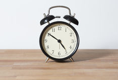 It is almost five o`clock. Stock Photos