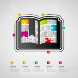 Education infographics Royalty Free Stock Images
