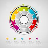 Presentation infographics Royalty Free Stock Photo