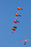 Five paratrooper Royalty Free Stock Images