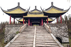 Five Pavilions Bridge, Yangzhou Royalty Free Stock Images