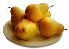 Five Pears Stock Image