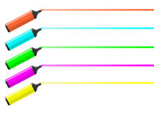 Five pencil Royalty Free Stock Photography
