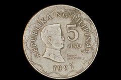 Five Pesos Royalty Free Stock Photo