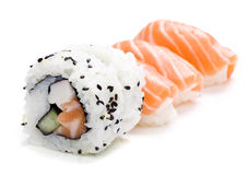 Five pieces of sushi Royalty Free Stock Image