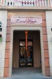 Five plus shop at Han street Stock Photo
