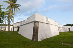 The Five Pointed Fort in Recife Brazil Royalty Free Stock Photo