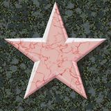 Five-pointed red star Royalty Free Stock Photos