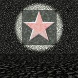 Five-pointed red star Stock Image