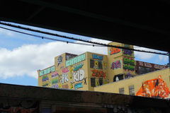 5 Pointz in New York City Royalty Free Stock Photos