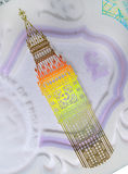 Five Pound Note Big Ben Royalty Free Stock Images