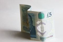 Five pound sterling stock images