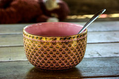 Five primary colors. Handmade bowls image five primary colors royalty free stock image