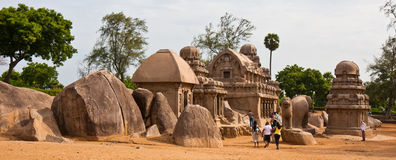 Five Rathas Site Stock Photography