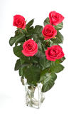 Five Roses Stock Photos