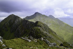 Five Sisters of Kintail stock photography