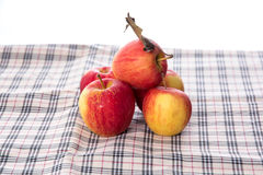 Five small apple Stock Photos