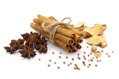 Five Spices Stock Photography