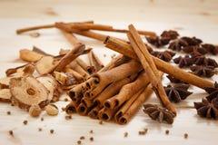 Five Spices Stock Photos