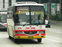 Five Star Bus Liner stock image